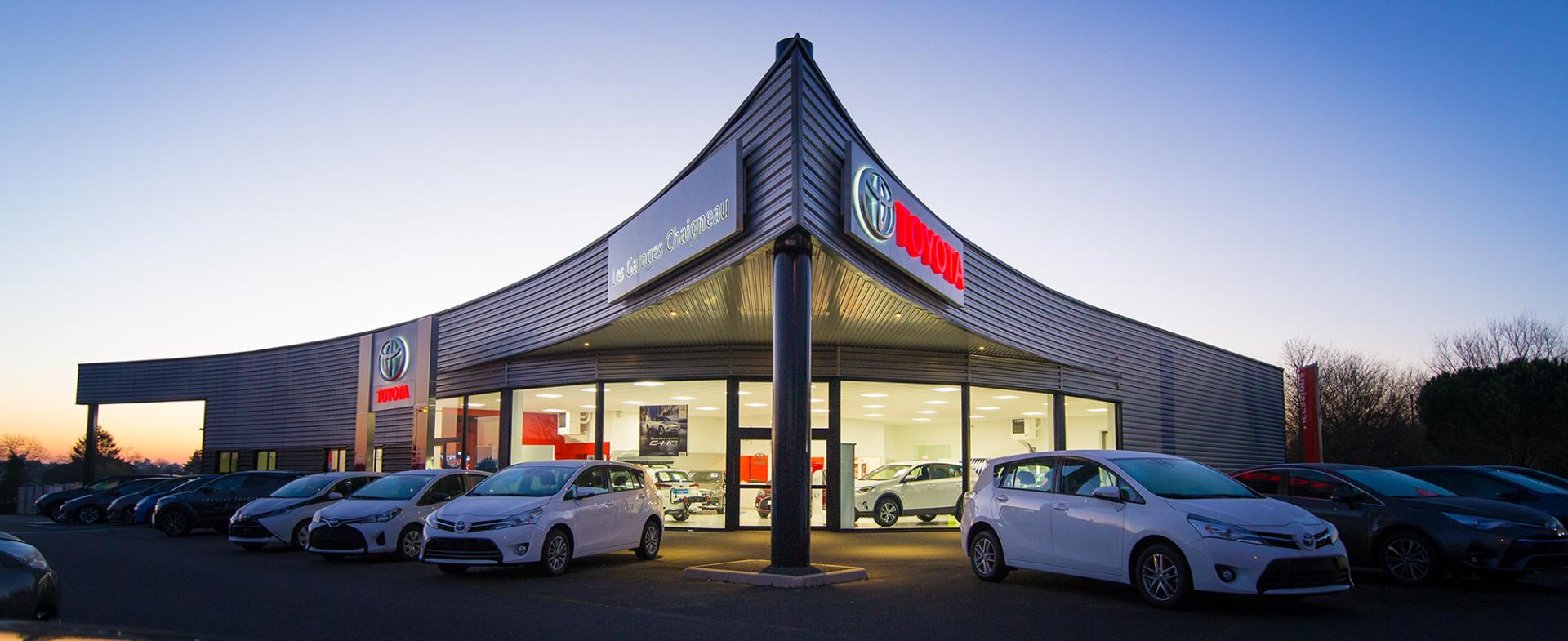 Concessionnaire toyota occasion id es d 39 image de voiture for Garage auto bobigny