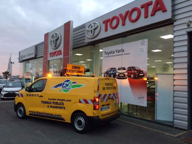 Toyota entreprise for Garage citroen bressuire